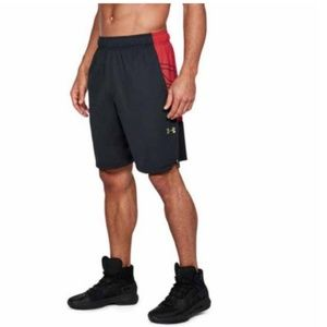 Under Armour Select 9'' Short Black / Red 1305735-